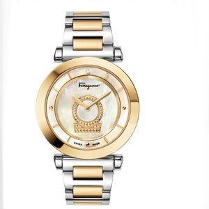 Ferragamo Minuetto Diamond Bracelet Watch NEW!